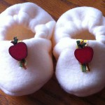 How to make Plush Baby Booties